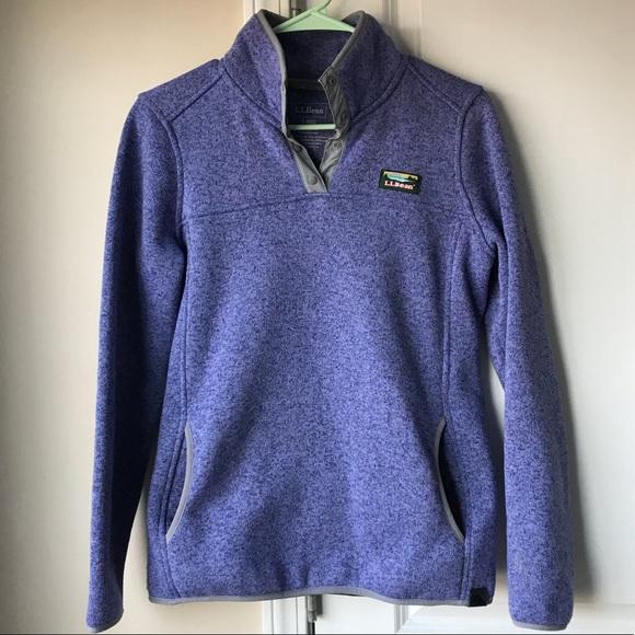 df783b3a3d724 L.L. Bean Jackets & Coats | Llbean Sweater Fleece Pullover | Poshmark
